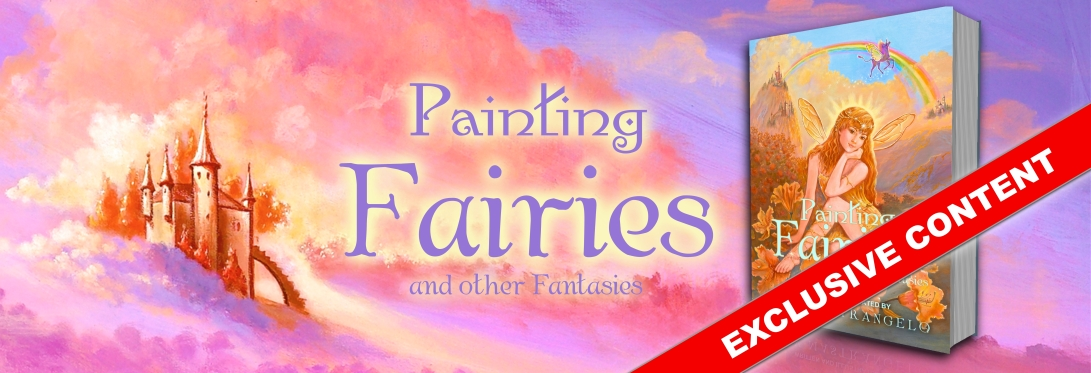 Painting Fairies Exclusive Banner