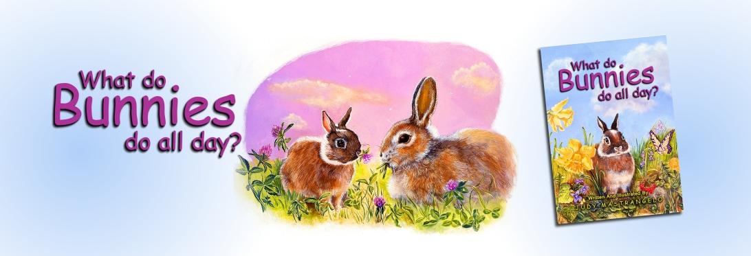 Bunny Book Banner
